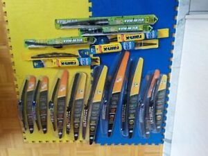 """NEW """"OPENED BOXES"""" WINDSHIELD WIPERS FOR SALE - $10 EACH NO TAX"""