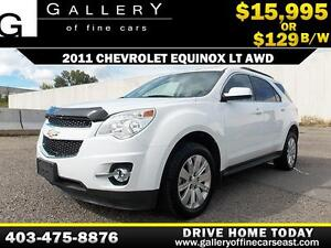2011 Chevrolet Equinox LT AWD $129 bi-weekly APPLY NOW DRIVE NOW