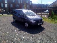Vauxhall Zafira 1.6 (Cheap 7 seater with long MOT)