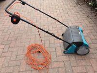 Gardena ES500 electric lawn rake/scarifier