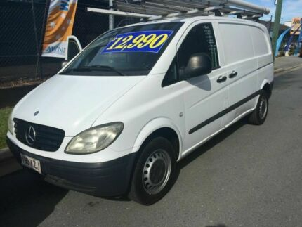 2008 Mercedes-Benz Vito 639 MY08 109CDI Low Roof Comp White 6 Speed Manual Van Burleigh Waters Gold Coast South Preview