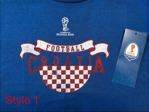 Official Licensed FIFA World Cup Croatia kid's t-shirts