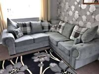 BARON CHESTERFIELD CORNER/3+2 SOFA AVAILABLE GREY IN STOCK ORDER NOW