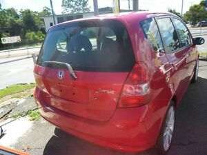 2003 Honda Jazz Red 5 Speed Manual Hatchback Eight Mile Plains Brisbane South West Preview