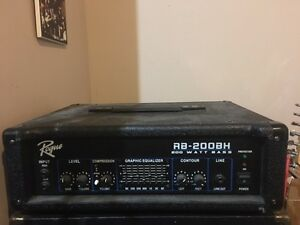 Bass Amp Head 200 watts