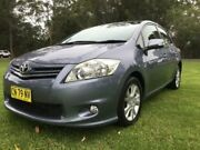 2012 Toyota Corolla ZRE152R MY11 Ascent Sport Grey 6 Speed Manual Hatchback Tuggerah Wyong Area Preview