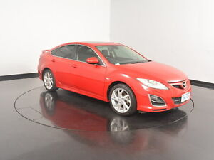 2010 Mazda 6 GH1052 MY10 Luxury Sports Red 6 Speed Manual Hatchback Welshpool Canning Area Preview