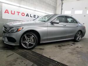 2015 Mercedes C300 4MATIC HEADS UP DISPLAY CAMERA *91$/SEM*