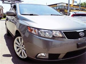2013 Kia Forte SX+LOADED+Roof+Leather+MINT Only $90/pmts