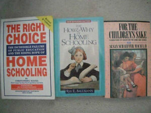 FREE: Assorted Homeschool books