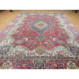 Ca1930s VG DY ANTIQUE PERSIAN VISS TABRIZ SERAPI HERIZ 9x12 ESTATE SALE RUG