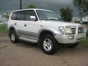 2000 Toyota Landcruiser Prado VZJ95R GXL White & Silver 4 Speed Automatic Wagon Holtze Litchfield Area Preview