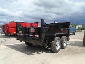3.5 ton dump -GREAT FOR CITY JOBS AND TOWS EASILY 60'' X 10' BED London Ontario image 2