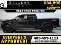 2013 FORD F150 FX4 CREW *EVERYONE APPROVED* $0 DOWN $229/BW!