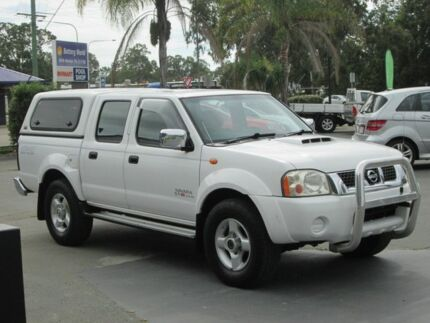 2009 Nissan Navara D22 MY2009 ST-R White 5 Speed Manual Utility Lawnton Pine Rivers Area Preview