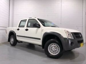 2007 Holden Rodeo RA MY06 Upgrade LX White 4 Speed Automatic Crew Cab Pickup