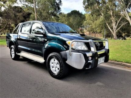 2006 Toyota Hilux KUN26R MY07 SR5 Green 5 Speed Manual Utility