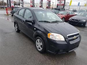 2007 Chevrolet Aveo LT, AUTO, GROUPE ELECTRIC, CRUISE, A/C, 1.6L