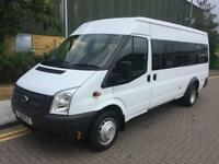2012 Ford Transit 2.2 TDCi 430 L Medium Roof Bus 5dr Diesel Manual RWD 17 str 1