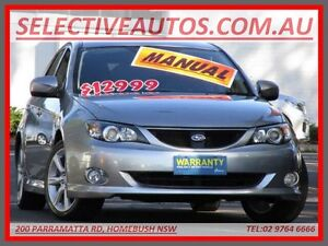 2008 Subaru Impreza MY08 RS (AWD) Silver 5 Speed Manual Hatchback Homebush Strathfield Area Preview