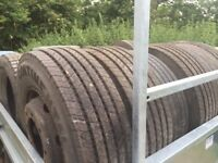 New 285-70-19.5 front steer tyres