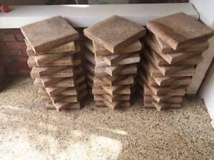 Concrete pavers 300 x 300 x 40, qty 156. 300 x 300 x 50 qty 42 Black Forest Unley Area Preview
