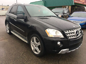 2011 MERCEDES BENZ ML550 AMG SUV, 4MATIC, 99K, FULLY OPTIONED