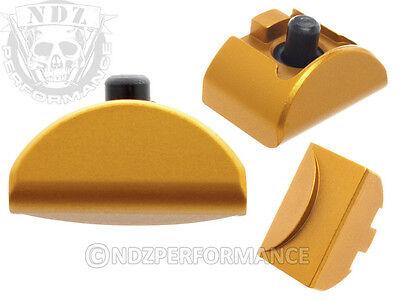 For Glock Gen 4 5 Al6 Grip Plug Gold 17 19 22 23 24 32 34 35 Pick Lasered Image