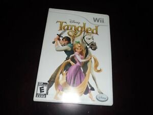 """Disney's Tangled Wii game in """"mint"""" condition with manual"""