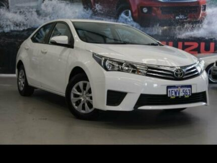 2015 Toyota Corolla ZRE172R Ascent White 7 Speed CVT Auto Sequential Sedan Rockingham Rockingham Area Preview