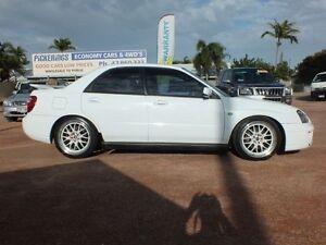 2003 Subaru Impreza S MY03 WRX AWD White 5 Speed Manual Sedan Rosslea Townsville City Preview