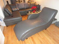 HOME GYM   & Leather Sectional Lounge chair