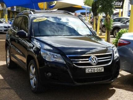 2009 Volkswagen Tiguan 5N MY10 147TSI 4MOTION Black 6 Speed Sports Automatic Wagon
