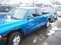 1998 Dodge Dakota runs and drives as-is
