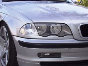 BMW E46 3 Series Titanium (Silver) Headlight Trim