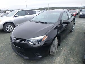 2016 Toyota Corolla One Owner LE