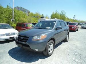 2009 SANTA FE ALL WHEEL DRIVE - 1 YEAR WARRANTY INCLUDED!!!