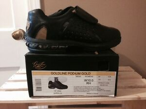 Women's Podium Gold Curling Shoes - BRAND NEW