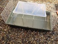 **LARGE INDOOR RABBIT OR GUINEA PIG CAGE- grab it quick for spring **