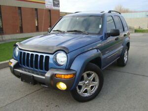 2004 JEEP LIBERTY 4X4 SPORT MOUNTAIN ED''TAX IN''PRIVATE SALE