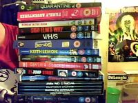 dvds and two blue rays £10 the lot