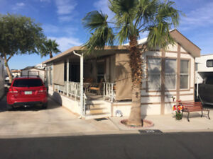 Yuma Arizona Cavco Park Model- Westwind RV and Golf Resort-