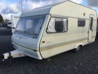 **NEW YEAR SPECIAL - 4 Berth. Really Clean & Tidy. Ideal Starter Caravan with Accessories Included.