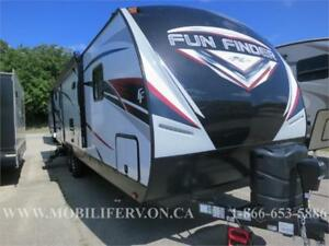 2018 FUN FINDER 27BH LUXURY BUNKHOUSE TRAILER FOR SALE*