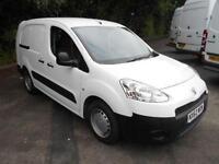 Peugeot Partner L2 716 S 1.6 HDI 90BHP CREW VAN DIESEL MANUAL WHITE (2012)