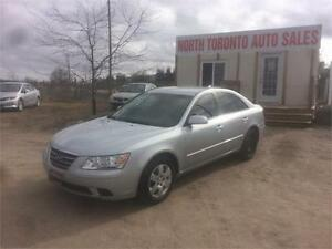 2010 HYUNDAI SONATA GL - VALID E TEST - LOW KM - 5SPD - CLEAN