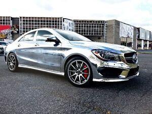 Transfert de bail 2015 Mercedes CLA45 AMG | Wrap «chromé» inclus