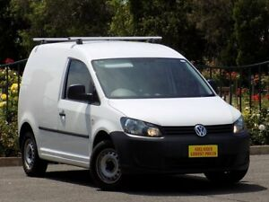 2012 Volkswagen Caddy 2KN MY12 TSI160 SWB Runner White 5 Speed Manual Van
