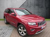 2014 Jeep Grand Cherokee V6 CRD OVERLAND Diesel red Automatic