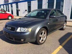 2004 Audi A4 Quattro 3.0 ,Leather, Sunroof, LOW KMS, LOADED!!!